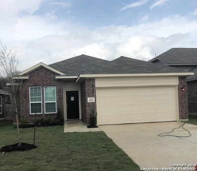 Selma Single Family Home New: 8223 Breezy Cove