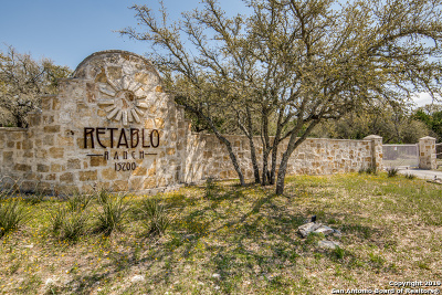 Helotes Residential Lots & Land Active Option: 14353 Santa Rita