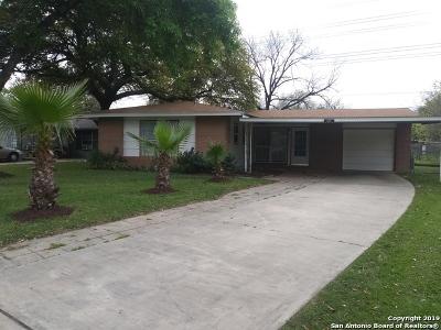 San Antonio Single Family Home New: 227 Salisbury Dr