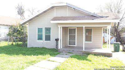 San Antonio Single Family Home New: 3710 W Salinas St