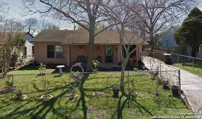 San Antonio Single Family Home New: 318 Cravens Ave