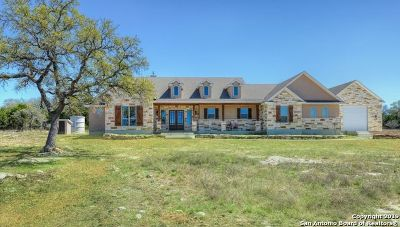 Boerne Single Family Home New: 369 Concho St