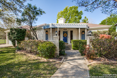 San Antonio Single Family Home New: 7603 Kim St