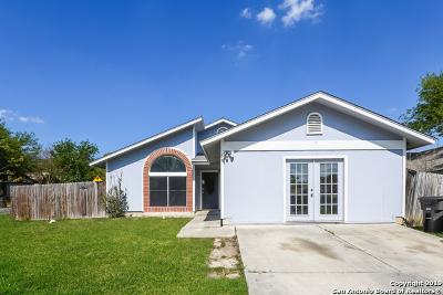 San Antonio Single Family Home New: 9503 Autumn Grove