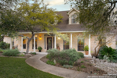 Boerne Single Family Home New: 9723 Boerne Haze