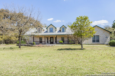 Helotes Single Family Home Active Option: 275 Arrowhead Pt