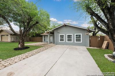 San Antonio Single Family Home New: 9606 Quicksilver Dr