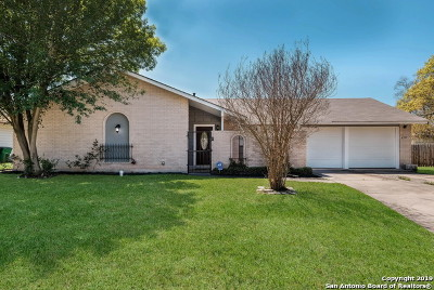 San Antonio Single Family Home New: 6711 Alan Hale St