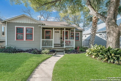 San Antonio Single Family Home New: 522 E Huisache Ave