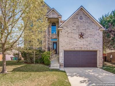 San Antonio Single Family Home New: 8715 Curry Heights