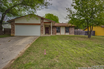 San Antonio Single Family Home New: 5235 Charolais Dr