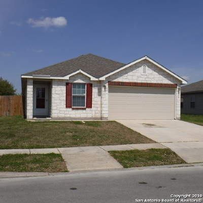 Selma Single Family Home New: 205 Cactus Patch