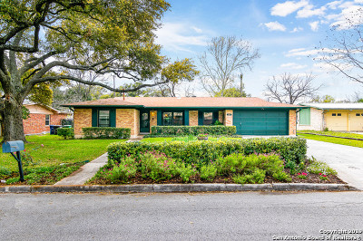 San Antonio Single Family Home New: 8607 Sagebrush Ln