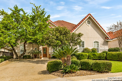 San Antonio Single Family Home New: 923 Serene Meadows
