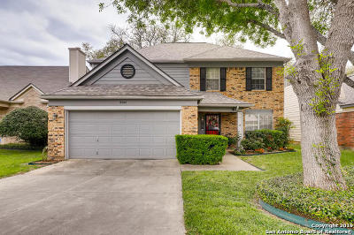 San Antonio Single Family Home New: 8542 Quail Wood