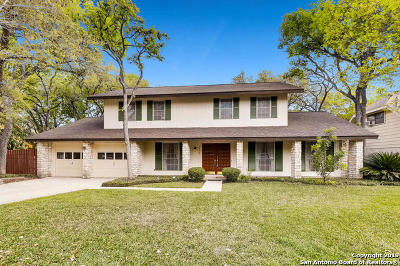 San Antonio Single Family Home New: 5406 Plantation