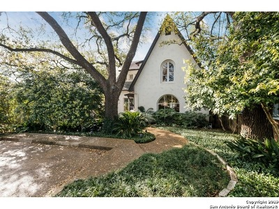 Alamo Heights Single Family Home New: 110 Albany St