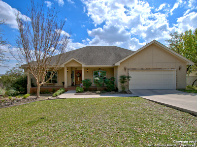 San Antonio Single Family Home New: 334 Deer Cross Ln
