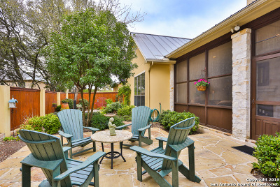 Boerne Single Family Home New: 235 Well Springs