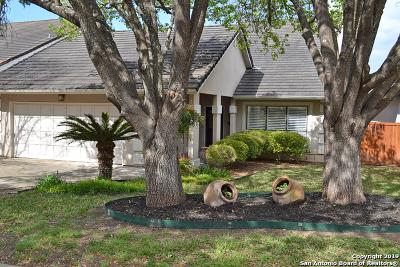 San Antonio Single Family Home New: 19207 W Birdsong
