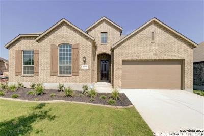 San Antonio Single Family Home New: 10310 Cactus Hills