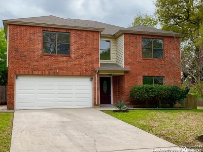 San Antonio Single Family Home New: 16627 Crystal Glade