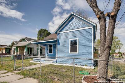 San Antonio Single Family Home New: 1129 Smith St