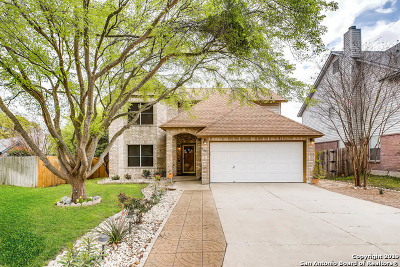 San Antonio Single Family Home New: 2146 Cougar Pass Dr