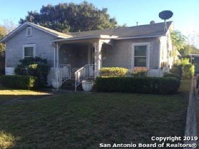 San Antonio Single Family Home New: 1702 Texas Ave