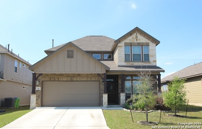 San Antonio Single Family Home Price Change: 8315 Angelina Parke