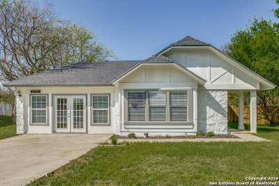 Single Family Home New: 10303 Country Bluff