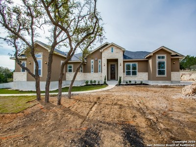 Spring Branch Single Family Home New: 2225 Cascada Pkwy