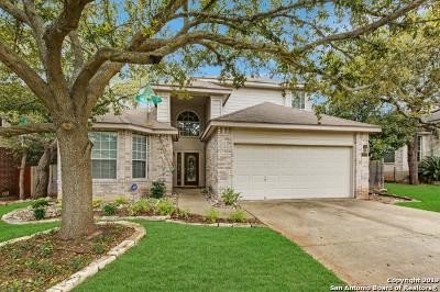 San Antonio Single Family Home New: 22715 Sabine Summit