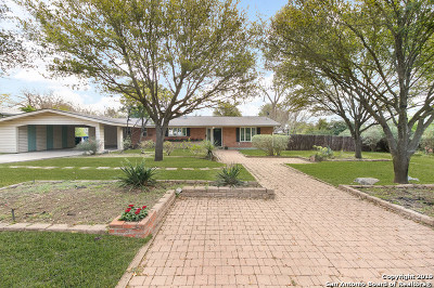 San Antonio Single Family Home New: 116 Grotto Blvd