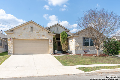 Helotes Single Family Home New: 9103 Pedernales Rio