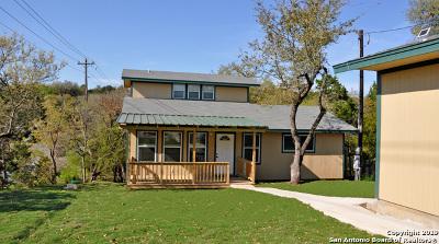 Canyon Lake Single Family Home Active Option: 507 Scenic Run