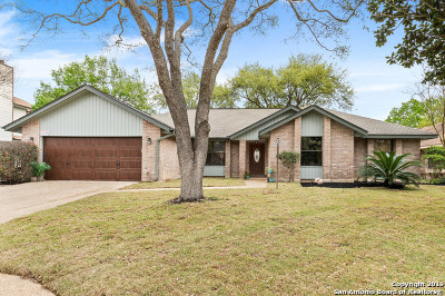 San Antonio Single Family Home New: 1410 Brookstone