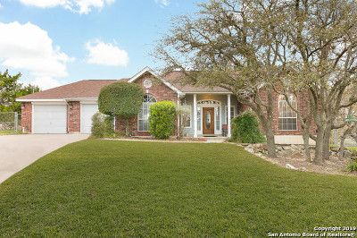 San Antonio Single Family Home New: 419 Deer Cross Ln