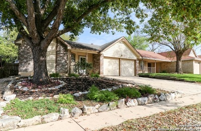 Live Oak Single Family Home New: 7809 Forest Briar