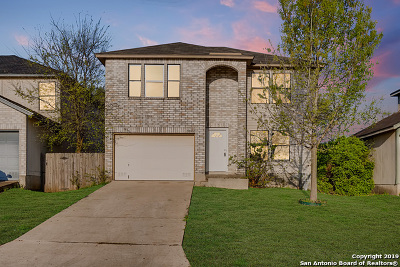 Single Family Home New: 9807 Arcade Ridge