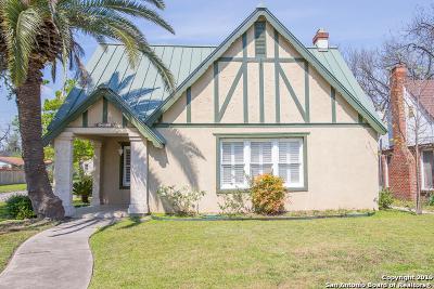 San Antonio Single Family Home New: 1951 W Mistletoe Ave