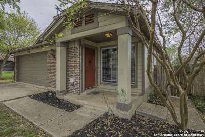 Boerne Single Family Home New: 110 Cibolo Branch Dr