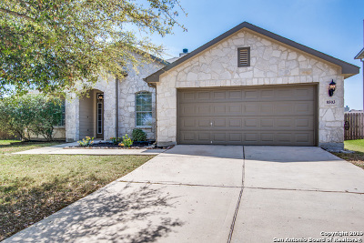 San Antonio Single Family Home New: 8503 Winchester Way
