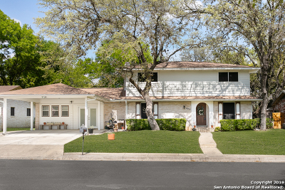 San Antonio Single Family Home New: 14715 Chimney Way St
