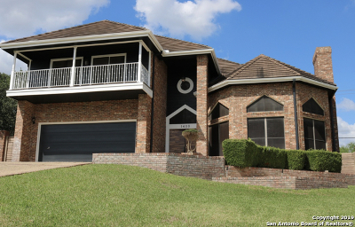 San Antonio Single Family Home New: 1403 Whisper Mtn
