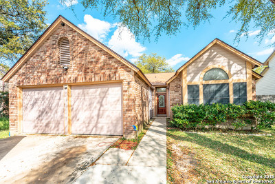 San Antonio Single Family Home New: 8310 Braespoint
