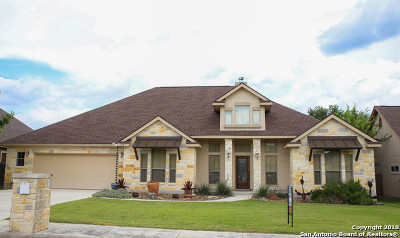 Boerne Single Family Home Active Option: 231 Leather Leaf