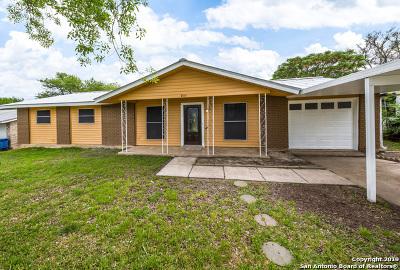 San Antonio Single Family Home New: 9114 Port Hudson St
