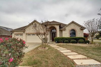 San Antonio Single Family Home New: 15042 Redbird Pass