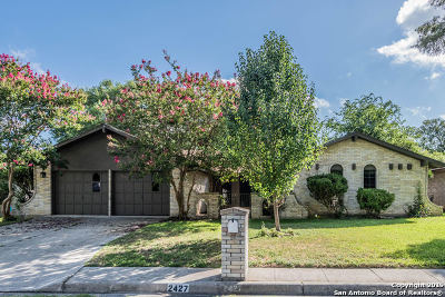Bexar County Single Family Home New: 2427 Bluffridge St
